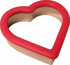 Red Heart Comfort Grip Cookie Cutter Plastic Wilton - $3.89