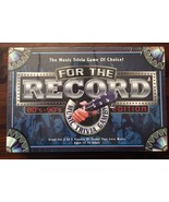 For the Record 80's 90's edition New. Sealed board game party Nineties E... - $23.38