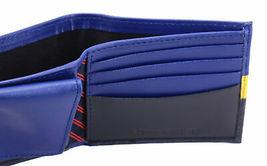 Tommy Hilfiger Men's Leather Wallet Passcase Billfold Rfid Navy Black 31TL220053 image 9