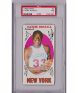1969 Topps Cazzie Russell Rookie #3 PSA 7 P623 - $38.63