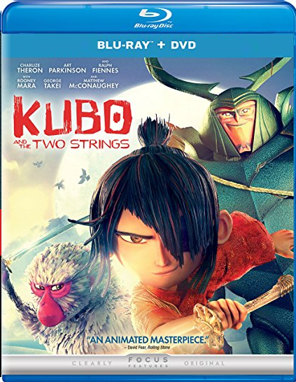 Kubo and the Two Strings [Blu-ray + DVD]