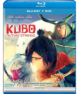 Kubo and the Two Strings [Blu-ray + DVD]  - $4.95