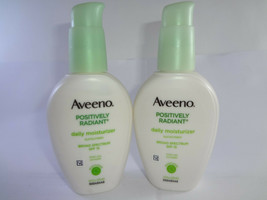 Aveeno Positively Radiant Daily Moisturizer, SPF 154 fl oz (2PK) (HB-A) - $23.33