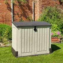 Outdoor Plastic Garden Storage Shed 130 X 74 110 Cm - $173.60