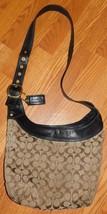 Coach Brown Signature Crossbody Bag Purse 12365 - $47.99