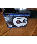 ACUPRESSURE FOOT MASSAGER WITH HEAT - NEW IN BOX - $250.00