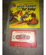 VTG RARE Disney's Song of the South Brer Rabbit and the Tar Baby Book & ... - $18.95