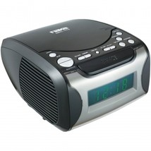 Naxa Digital Alarm Clock with Digital Tuning AM/FM Radio & CD Player - $39.99