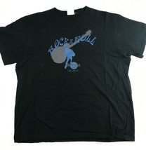 XL Rock & Roll Orlando Hard Rock Cafe Black T-Shirt Cut Away Guitar - $16.30