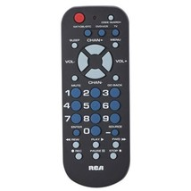 Universal Remote, Rca Rcr503bz 3-device Dvd Player Vcr Universal Remote Tv Cable - $12.99