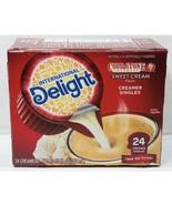 International Delight Cold Stone Creamery Sweet Cream Coffee Creamer Sin... - $16.90