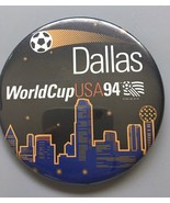 1994 World Cup USA soccer football pin button Washington, DC Rare - No P... - $6.00