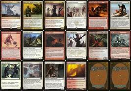 Iroas' Army   MTG Magic The Gathering Red White Modern 60 Card God Deck Lot - $27.99