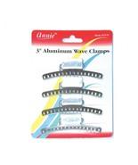 "Annie 3"" Aluminum Wave Clamps Hair Accessories Claw Pins Clips Firm Grip... - $5.89"