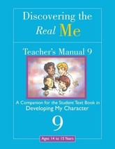 Discovering the Real Me: Teacher's Manual 9: Developing My Character [Se... - $5.02