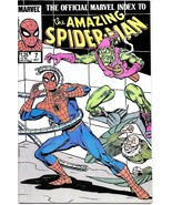 Official Marvel Index To Amazing Spider-Man Comic Book #7 Marvel 1985 VE... - $2.75