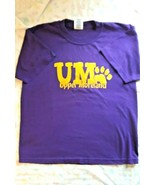 VTG 1960s HIGH SCHOOL T-SHIRT: UPPER MORELAND HS/WILLOW GROVE PA: SZ LG-... - $8.00