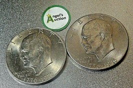 Eisenhower  Dollar 1976 P and 1976 D AA20D-CND8001 image 2