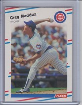 GREG MADDUX 1988 Fleer #423 (C362) - $2.25