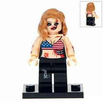 Zombie Girl - Scary Undead Horror Film Minifigures Gift Toy New - $2.90