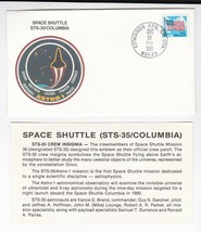 STS-35 SPACE SHUTTLE COLUMBIA EDWARDS AFB, CA DECEMBER 10 1990 WITH INSE... - $1.78