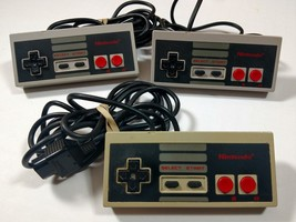 Nintendo NES Video Game Controllers Original Lot of 3 Untested Japan NES... - $19.92