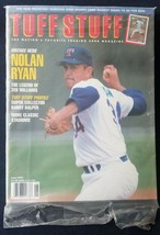 TUFF STUFF Trading Card Magazine Nolan Ryan June 1992  - $5.93