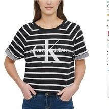 Calvin Klein Jeans Womens French Terry Logo Crop Top - Variety - $19.99