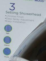 Body Moods 7651600 Fixed 3 Setting Showerhead Chrome Finish Standard Showers image 6