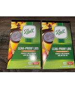 Ball Plastic Leak Proof Storage Caps Regular Mouth Canning Lid Reusable ... - $19.34