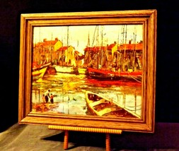 Wonderful Painting with Antique Frame from Europe  AA19-1551