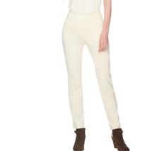 Women With Control Petite Tummy Control Slim Leg Pant Color Winter White... - $10.76
