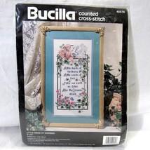 Bucilla Counted Cross Stitch Kit Little Deeds of Kindness Linda Gillum 8 x 16 - $24.43