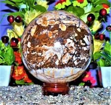 Chakra Stone Handmade for Spirit Healing  Aura  Size- 10.6KG/8IN Sphere... - $1,199.00