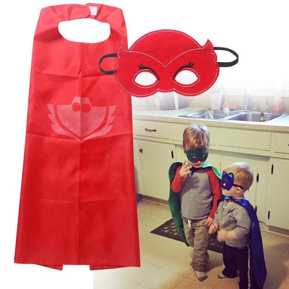 PJ Masks Cape Mask and Cape  Superhero Capes Kids