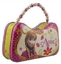 Frozen Princess Anna Tin Purse Lunch Box Disney - $131,60 MXN