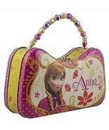 Frozen Princess Anna Tin Purse Lunch Box Disney - £5.05 GBP