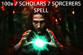 100X 7 Scholars The Seven Sorcerers Gifts Extreme High Magick Ring Pendant - $99.77