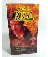 Rare Jose Rizal Movie Film on VHS  GMA Films a Marilou Diaz-Abaya film. - $48.99