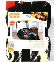 Jay Franco & Sons Star Wars Super Soft 62 In X 90 In Polyester Plush Blanket - $37.99