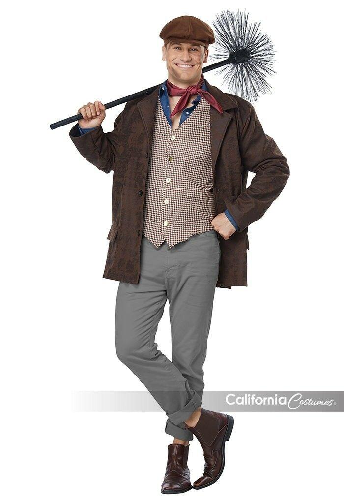 California Costumes Chimney Sweep Worker Adult Mens Halloween Costume 00708 - $40.16