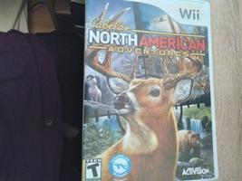 Nintendo Wii Cabela's North American Adventures image 1