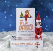 El Elfo On The Estante a Christmas Tradition Azul Ojo Boy Por Chanda Bell Y Caro image 4