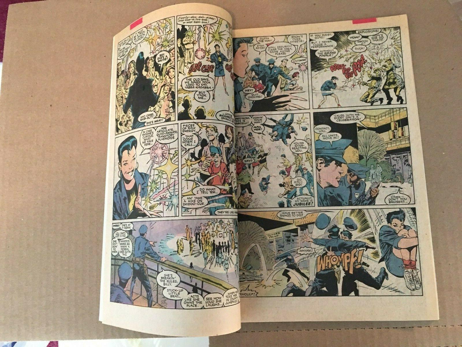 Uncanny X-Men #244 Marvel Comic Book NM Condition 1st Jubilee 1989