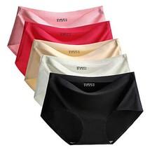 TALEVE Womens Seamless Panties Ice Silk Hipster Underwear Breathable Bri... - $24.88