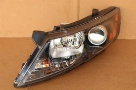 11-13 Kia Optima Headlight Lamp Halogen Driver Left LH image 2