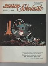 Junior Scholastic  March 21, 1969 Vanishing Americans, Folk Songs, Latin... - $1.03