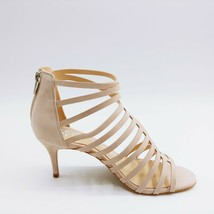 Vince Camuto Womens Petronia Leather Strappy Heeled Sandals Moonstone 8W... - $49.49