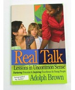Real Talk: Lessons in Uncommon Sense: Adolph Brown Signed Autographed - $18.48