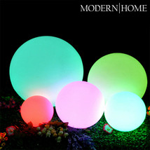New! Led Color Sphere - Floating Light Ball - Mood Glowing Orb - Water Resistant - $44.95